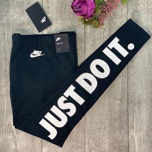 Nike Leggings Just Do It Legasee JDI Black